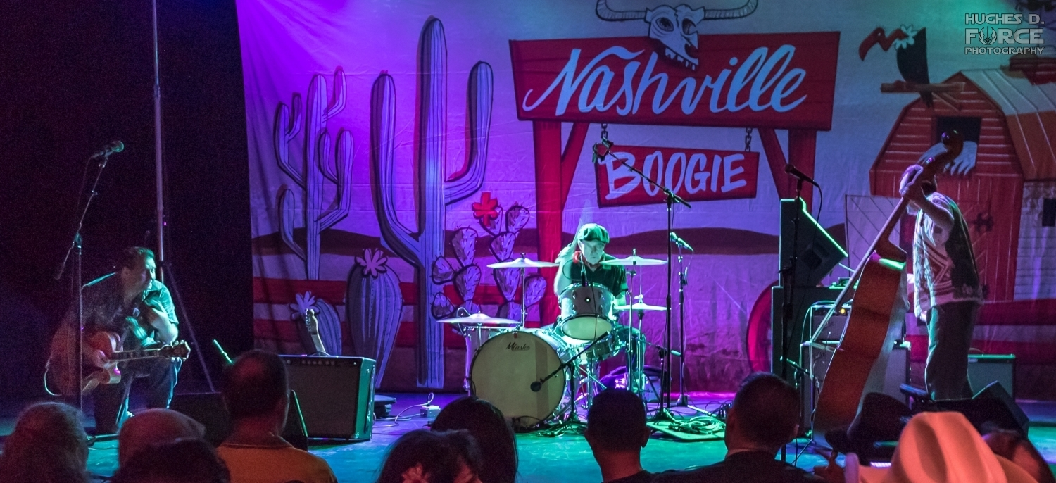 The Paladins at the 2018 Nashville Boogie