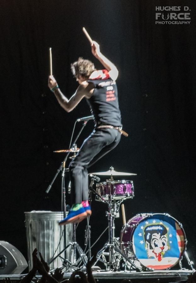 Slim Jim Phantom takes to the air.